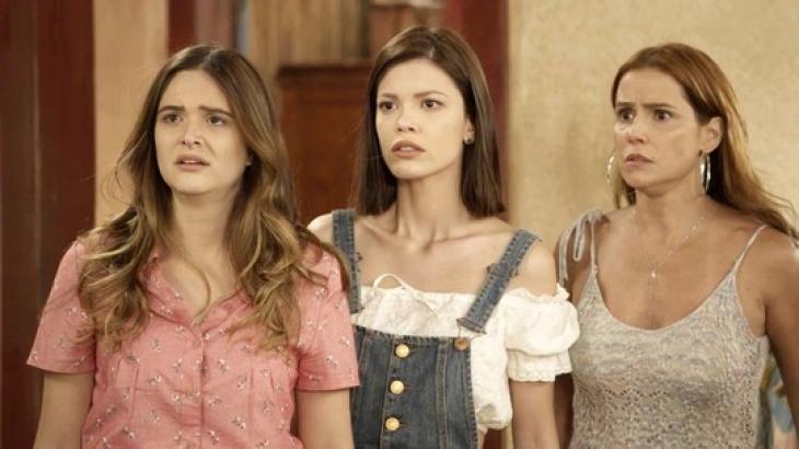 Juliana Paiva, Deborah Seco e Vitória Strada em Salve-se Quem Puder