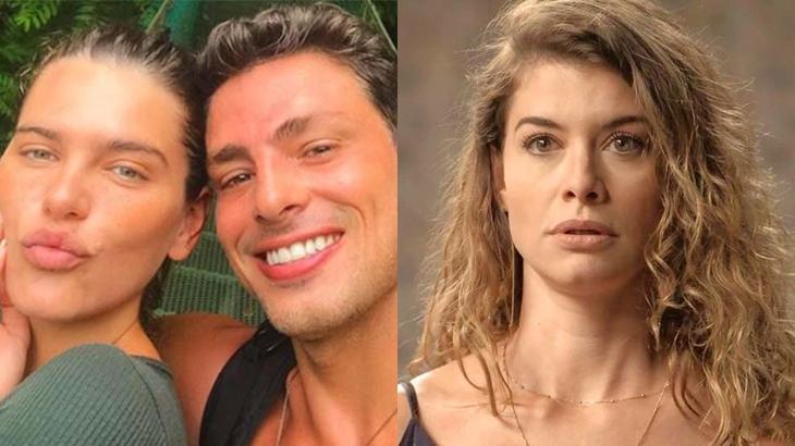 A atua esposa de Cauã Reymond falou sobre cenas do marido com Alinne Moraes, ex dele. Saiba tudo