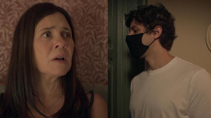 Internautas se derretem com Chay Suede em novas cenas de Amor de Mãe