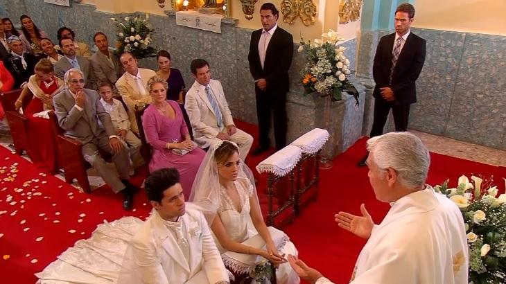 Francisco no casamento de Nikki e Roy