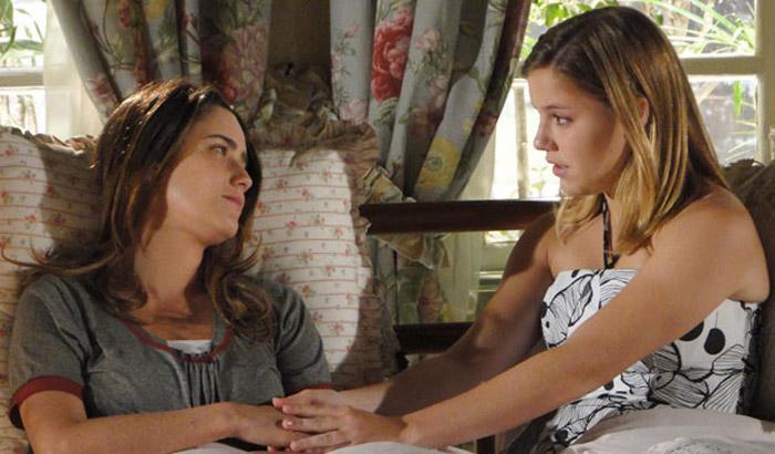 """A Vida da Gente: Ana termina noivado com Lúcio e ameaça largar o tênis: \""""Sem chão\"""""""