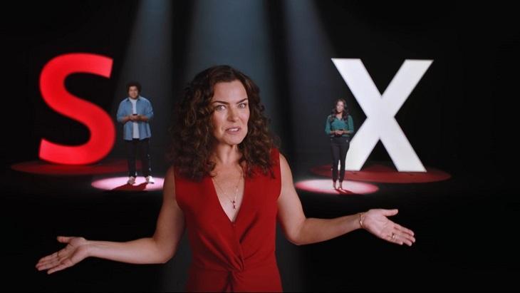 Ana Paula Arósio em comercial
