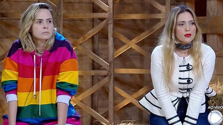 Ana Paula Renault e Nadja Pessoa na Roça