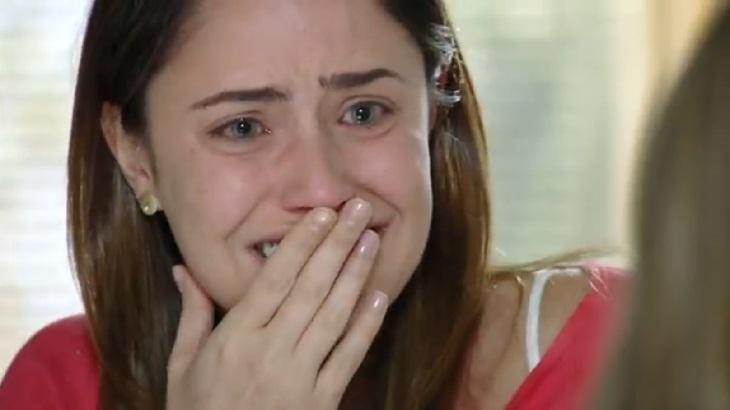 Fernanda Vasconcellos em cena da novela A Vida da Gente, em reprise na Globo
