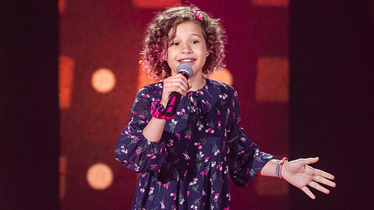 Analu Sampaio no The Voice Kids