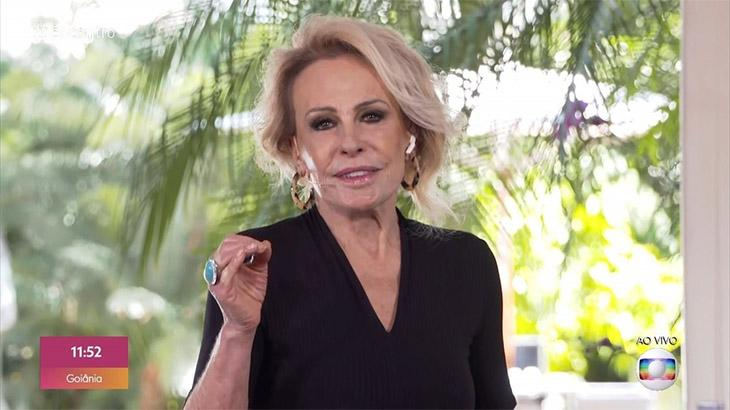 Ana Maria Braga dentro do Encontro