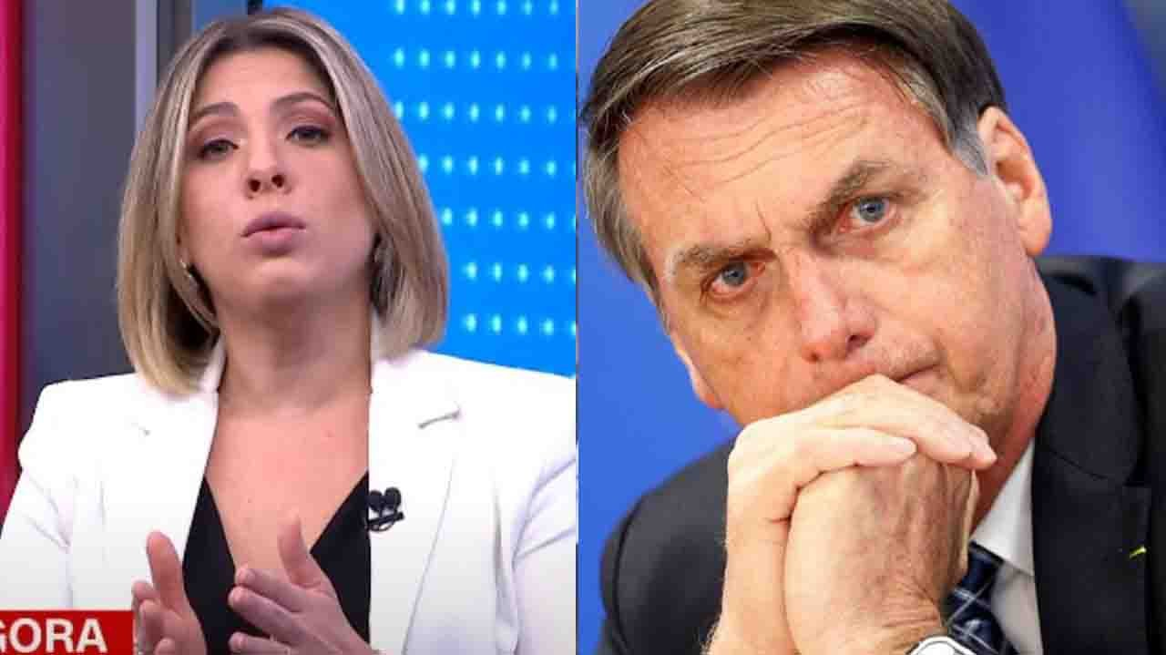 Daniela Lima na CNN; Bolsonaro preocupado