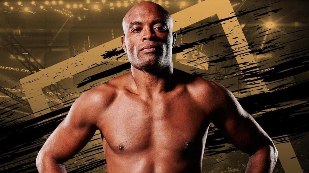 Anderson Silva em poster do UFC
