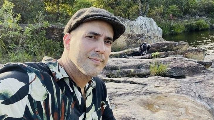 André Marques no meio da natureza