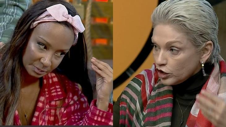 """Drika Marinho e Andréa Nóbrega discutiram muito durante a Roça em """"A Fazenda 11"""""""