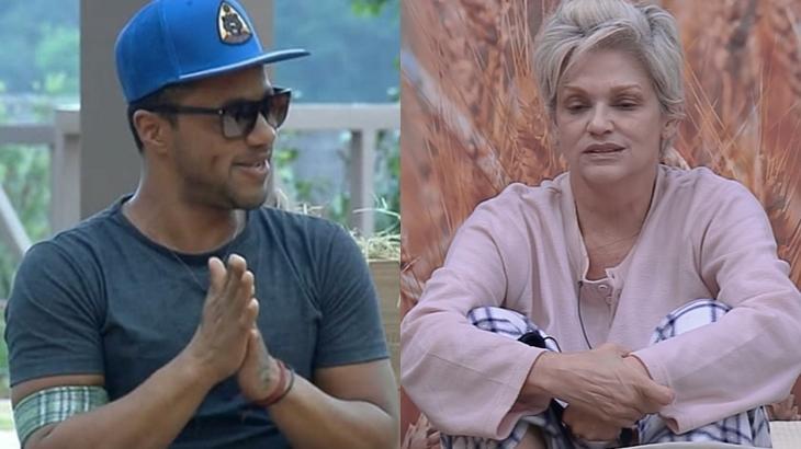 Andréa Nóbrega defendeu Phellipe Haagensen no reality show A Fazenda 11 após expulsão
