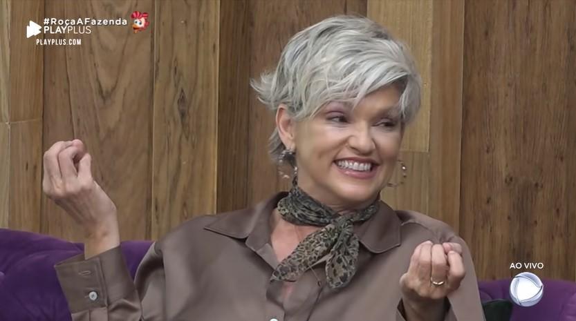 Ándréa Nóbrega manifestou sua torcida para os peões de A Fazenda 2019
