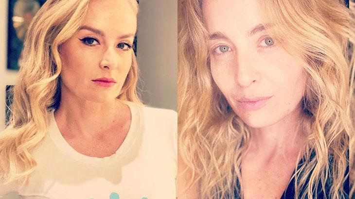 Angélica posta foto sem maquiagem e surpreende; famosos comentam