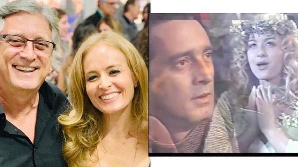 Eduardo Galvão e Angélica