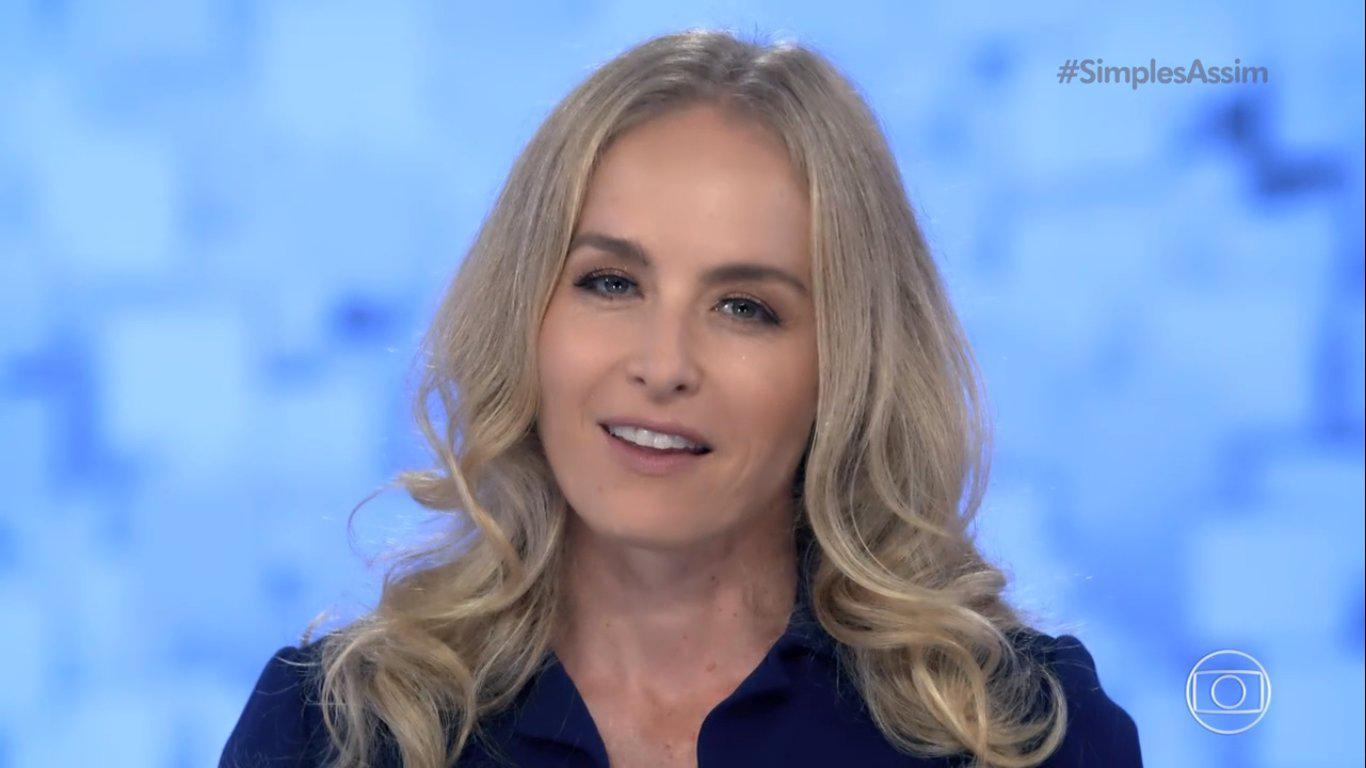 Angélica no Simples Assim na Globo