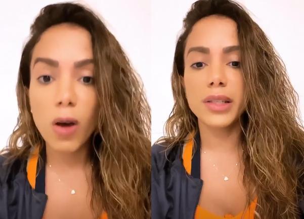 """Anitta se diz ameaçada e acusa Leo Dias de chantagem: \""""Não tenho mais medo\"""""""