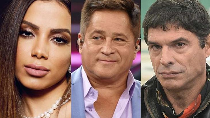 Anitta, Leonardo e Olivier Anquier