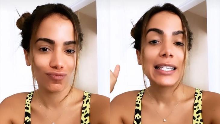 Anitta participa de paredão do BBB20