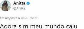 """MC Melody detona Anitta, que rebate: \""""meu mundo caiu\"""""""