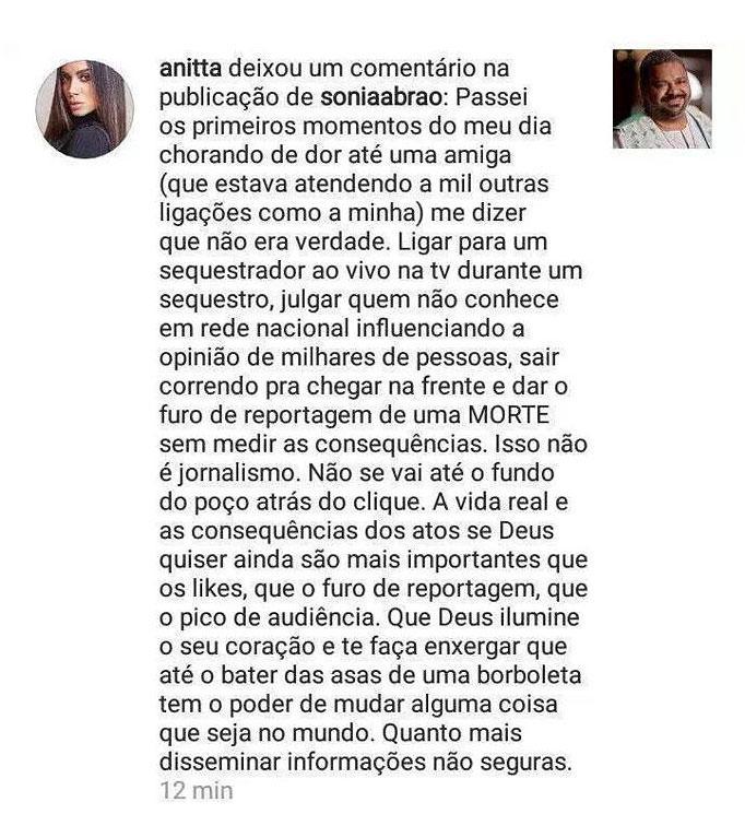 """Sonia Abrão se manifesta após \""""matar\"""" Arlindo Cruz: \""""deixo meu pedido de desculpas\"""""""
