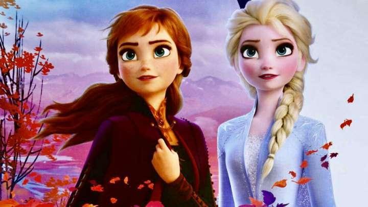 Cena do filme Frozen