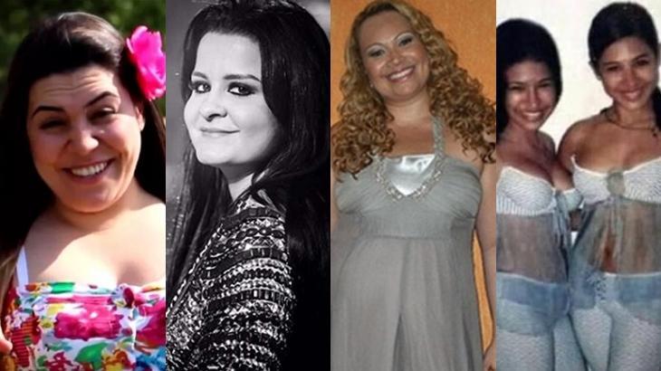 Naiara Azevedo, Maiara, Solange Almeida e Simone e Simaria