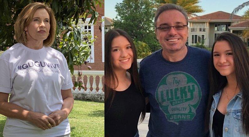 Aparecida Liberato, Marina, Sofia e Gugu