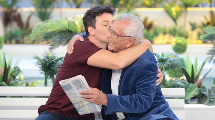 """Com a visita de Rodrigo Faro, \""""A Praça é Nossa\"""" lidera na média nesta quinta"""