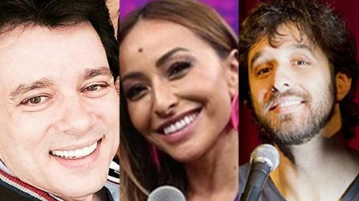 Celso Portiolli, Sabrina Sato e Rafinha Bastos