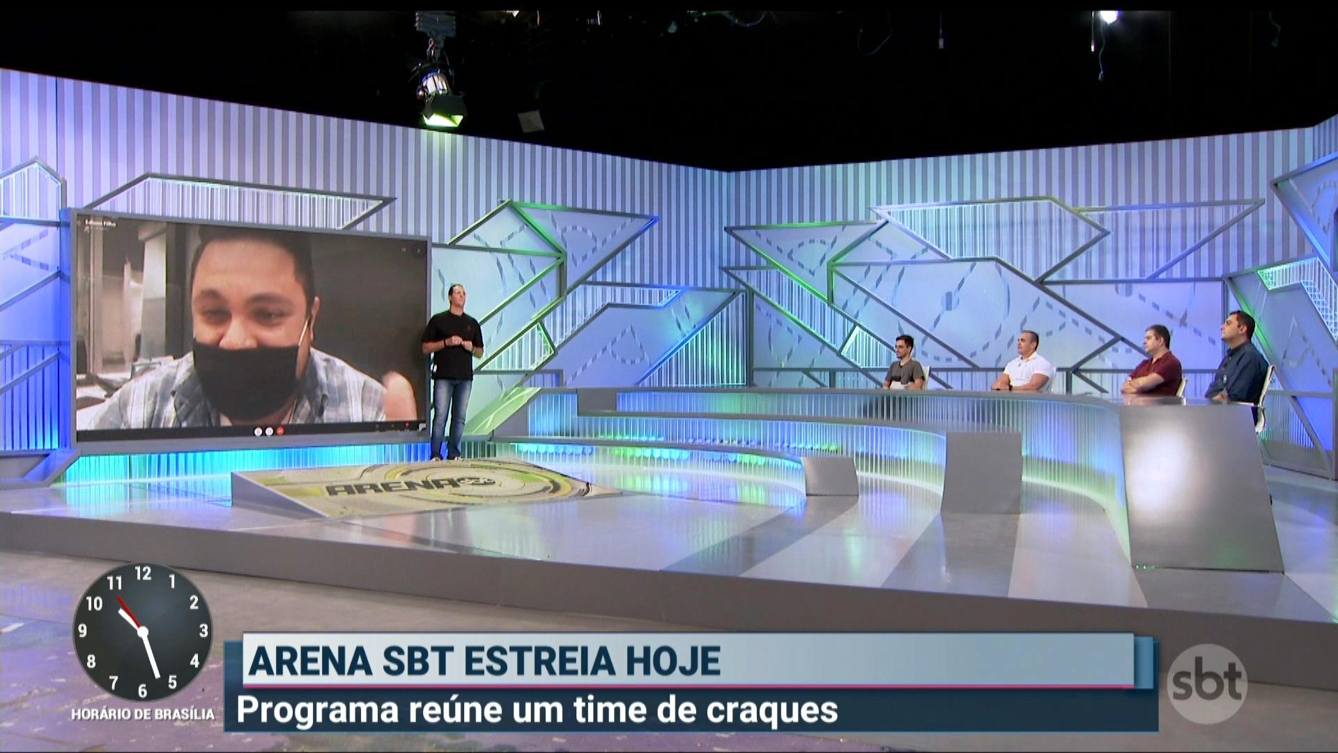 Veja como será o cenário do Arena SBT, com Benjamin Back