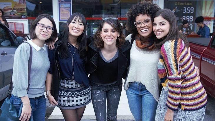 Protagonistas de As Five sorridentes
