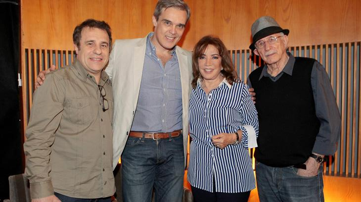 "Íris Abravanel reúne pela primeira vez elenco de \""As Aventuras de Poliana\"" no SBT"