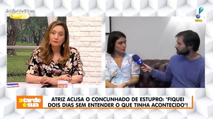Entrevista de Letícia Almeida ao A Tarde é Sua