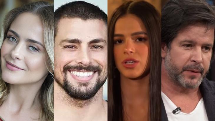 Juliana Silveira, Cauã Reymond, Bruna Marquezine e Murilo Benício