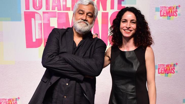 Paulo Halm e Rosane Svartman