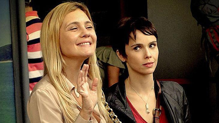 Cena de Avenida Brasil com Nina e Carminha