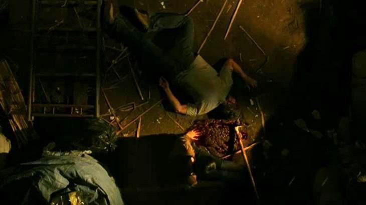 Cena de Avenida Brasil com a morte de Max