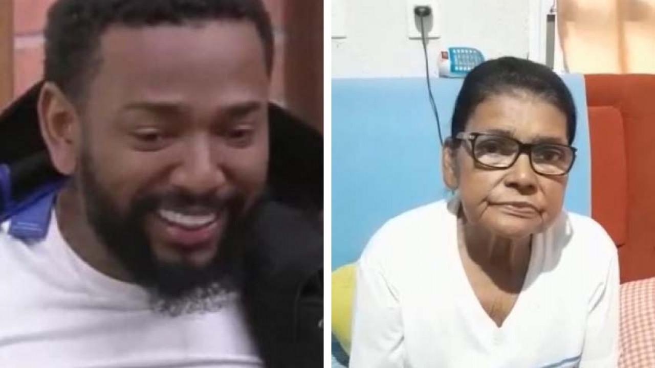 Nego do Borel e a avó Elza Viana