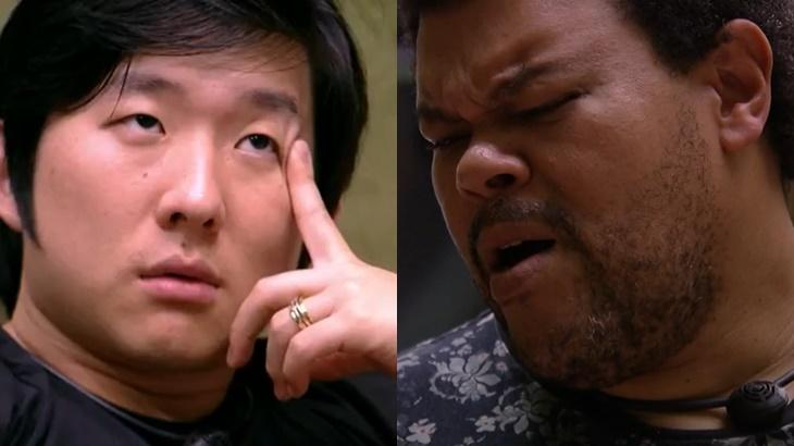 Pyong Lee e Babu Santana conversaram no BBB20