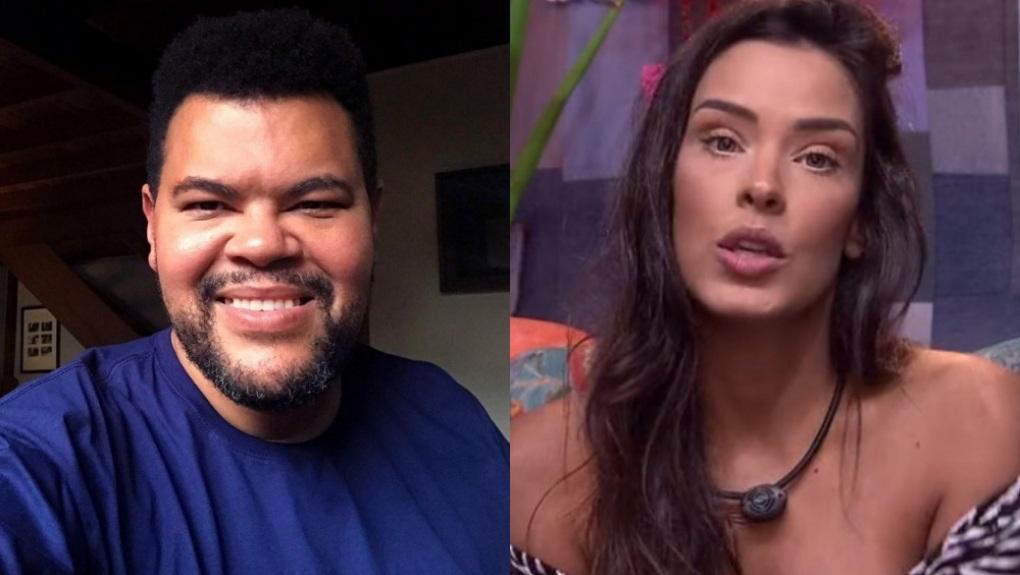 O ator Babu Santana e a modelo Ivy Moraes participaram do BBB20