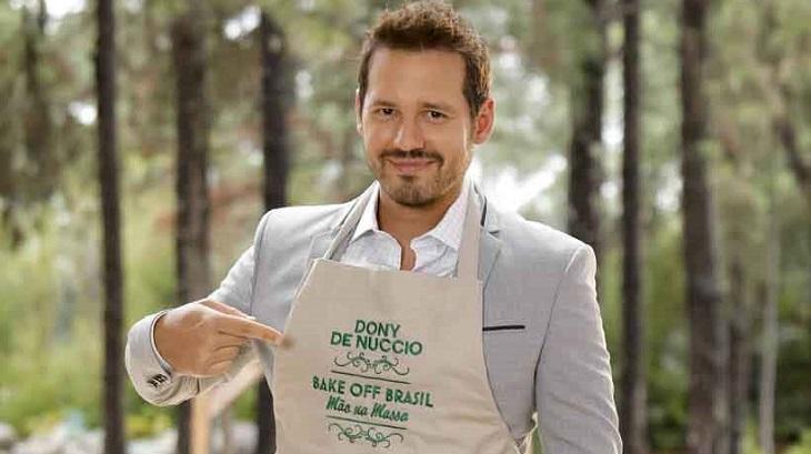 Dony De Nuccio no Bake Off Brasil - Celebridades