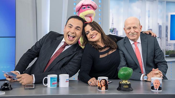 Reinaldo Gottino, Fabíola Reipert e Reinaldo Lombardi
