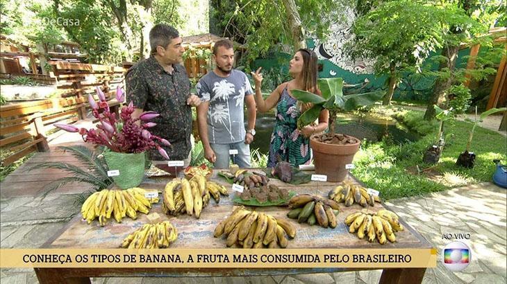 "Cena do programa ""É de Casa"""