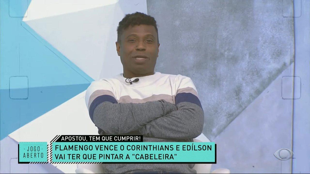 Edílson Capetinha no Jogo Aberto