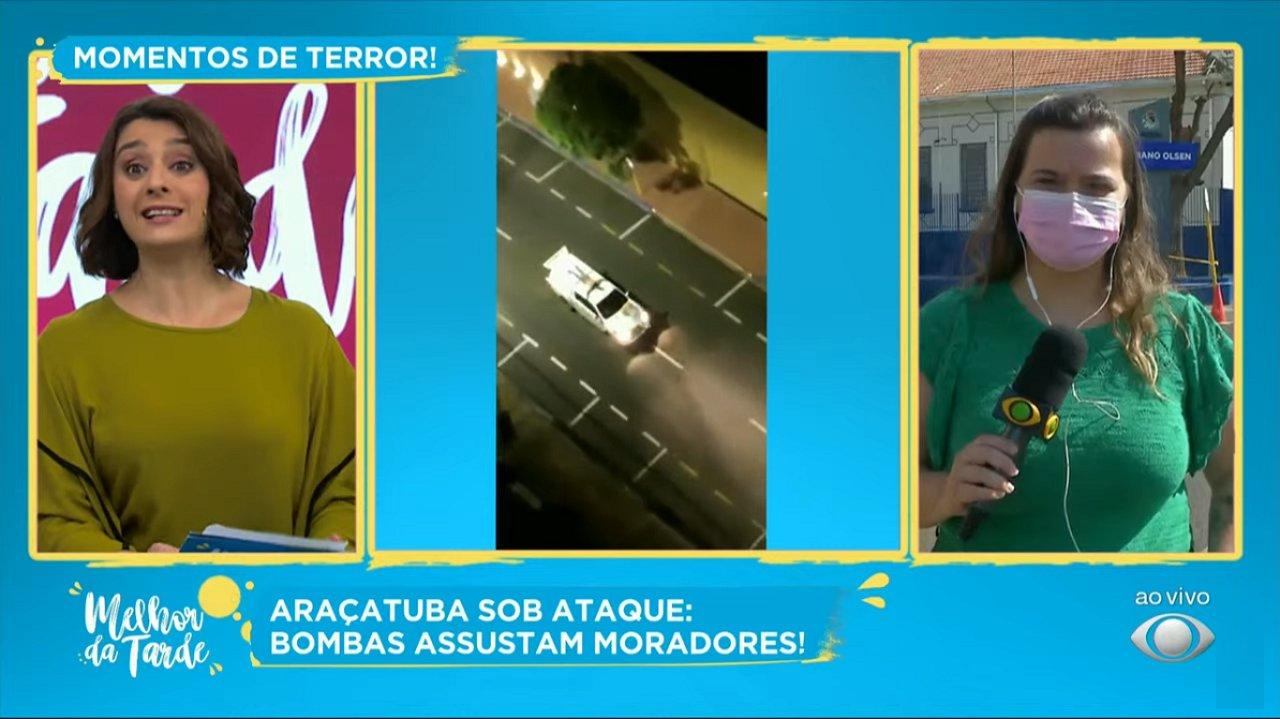 Cátia Fonseca e Isadora no Melhor da Tarde