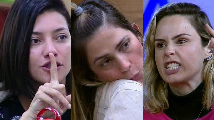 Gabi, Nadja e Ana Paula protagonizaram muitos barracos