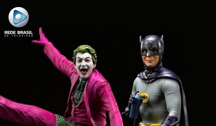 Rede Brasil estreia série clássica do Batman em alta definição
