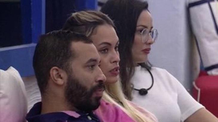 Gilberto, Sarah e Juliette no BBB21