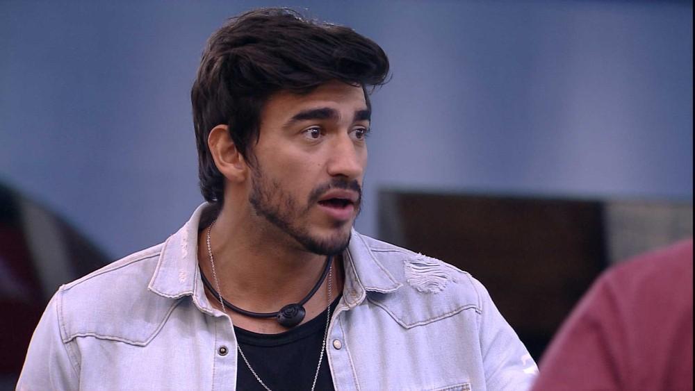Guilherme é um dos emparedados da semana no reality show BBB20