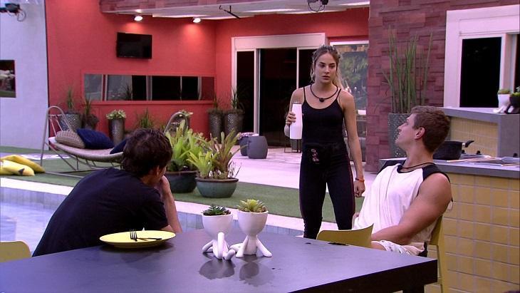Gabi, Felipe e Lucas do BBB20